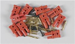FG - Gold Plug In Connector 2mm, 10pcs [06545/01]