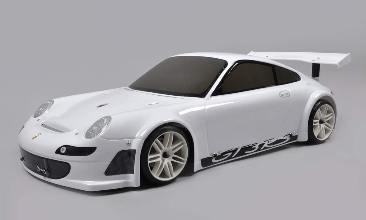 FG Sportline Porsche 911 GT3 RSR 4WD RTR - painted bodyshell [155169R]