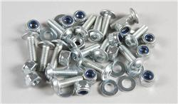 FG - Body screws with stop nuts, 15 pcs [07058]