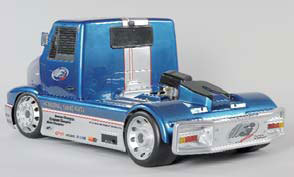 FG - Body set Super Race Truck 2WD, clear [03249]