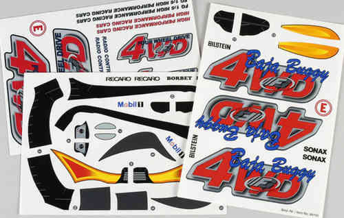 Sticker Buggy 4WD RTR
