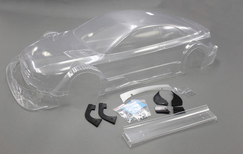 FG - Audi RS5 bodyshell with wing, clear [04159]