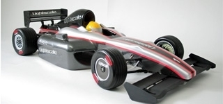 Lightscale - Carrosserie F1 Silhouette 1,0mm, transparente [51200101]