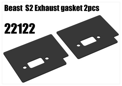 RS5 - Beast S2 Exhaust gasket, 2pcs [22122]