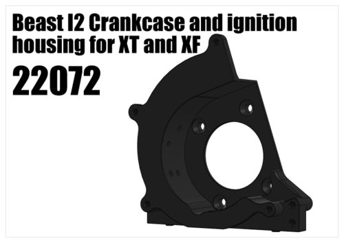 RS5 - Beast I2 crankcase and ignition housing for XT and XF [22072]