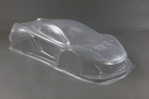 SCS M2 - ST Two GT3 Body 1,5mm, TRANSPARENT