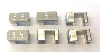 HARM - Toe-in block, 2.5 - 3 - 3.5°, set 6 pcs [1511395-99]