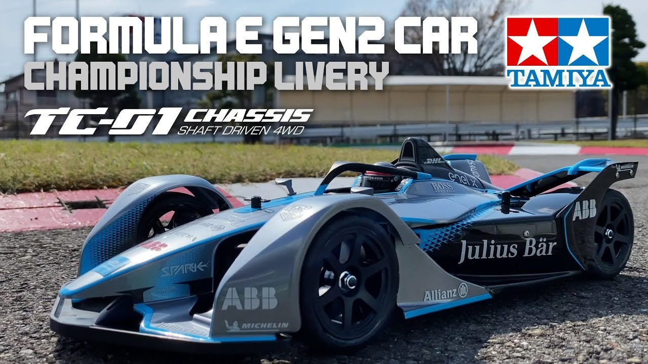 Detail-photos-and-video-of-new-Tamiya-58681-Formula-E-GEN2-Car-Championship-Livery-TC-01-Chassis
